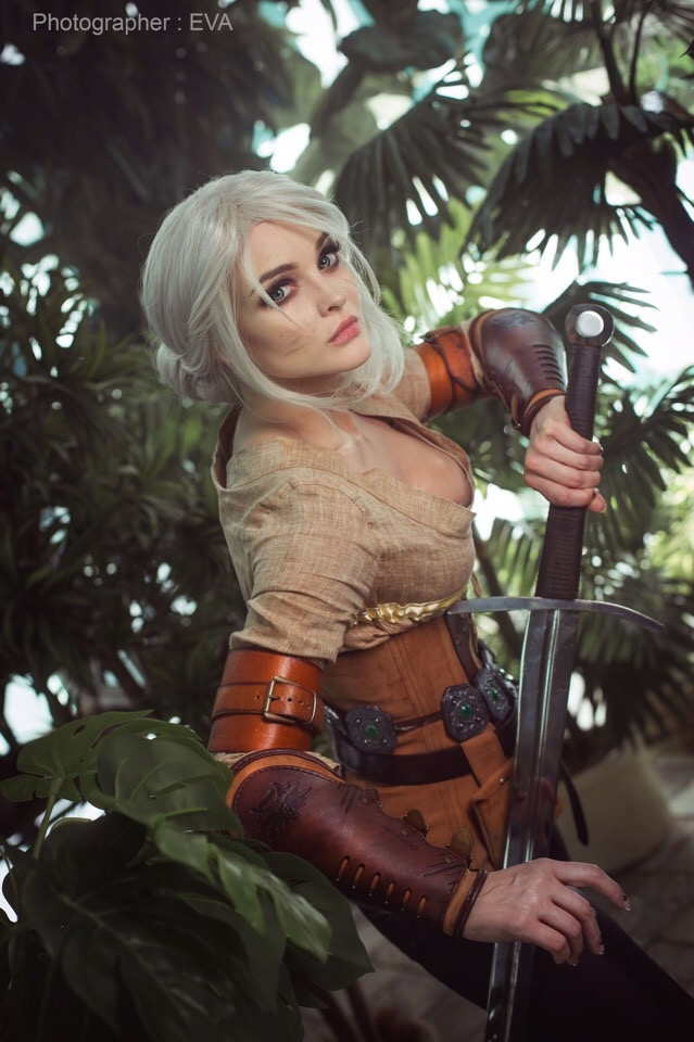 cirilla__the_witcher_3___12_by_katssby_de6td8f Cosplay - The Witcher - Ciri #209