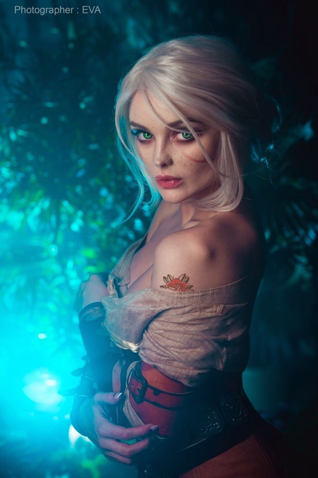cirilla__the_witcher_3___14_by_katssby_de6zpqt Cosplay - The Witcher - Ciri #209