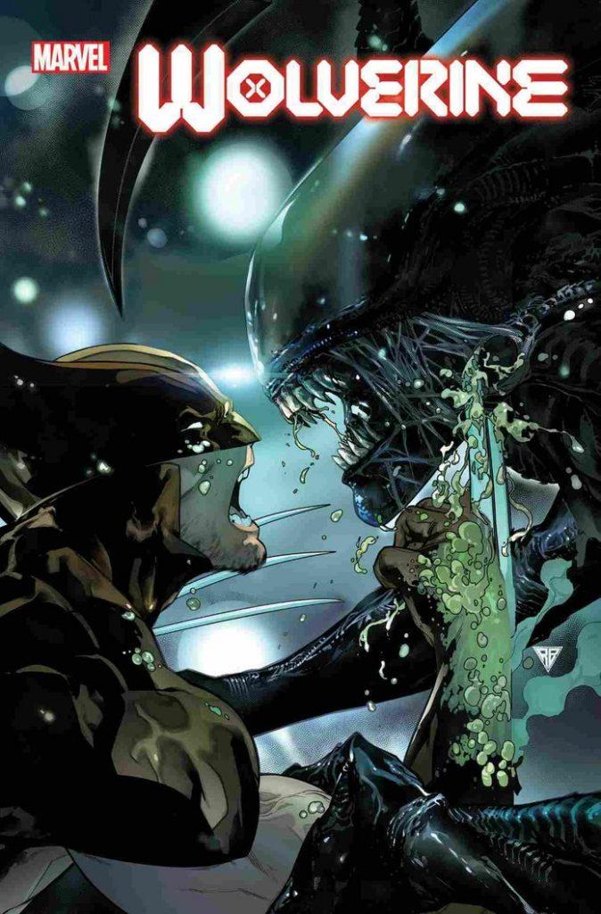 marvelvsalienwolverine9rbsilva1242021-674x1024 Marvel - Premier aperçu du crossover entre les Avengers et Alien