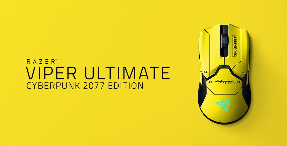 RazerViperUltimate Cyberpunk 2077 - La Razer Viper Ultimate est disponible!