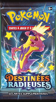 Destinees_Radieuses_Booster_Shiny_Salarsen Pokemon - La nouvelle extension Destinées Radieuses du Jeu de Cartes