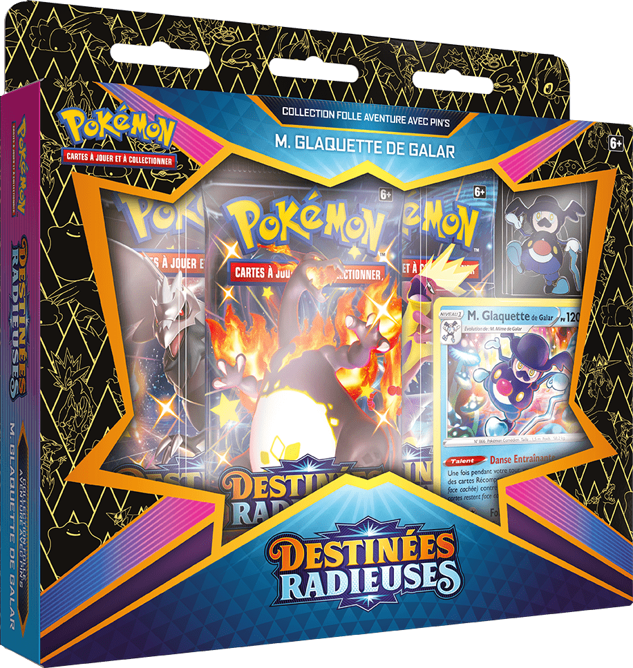 Destinees_Radieuses_Pin_Collection_M_Glaquette Pokemon - La nouvelle extension Destinées Radieuses du Jeu de Cartes