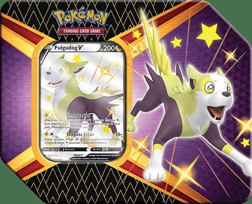 Destinees_Radieuses_V_Tins_FulgudogV Pokemon - La nouvelle extension Destinées Radieuses du Jeu de Cartes
