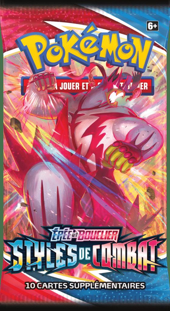 Epee_et_Bouclier_-_Styles_de_Combat_Booster_Wrap_Shifours_Poing_Final-559x1024 La nouvelle extension Épée et Bouclier – Styles de Combat du JCC Pokémon