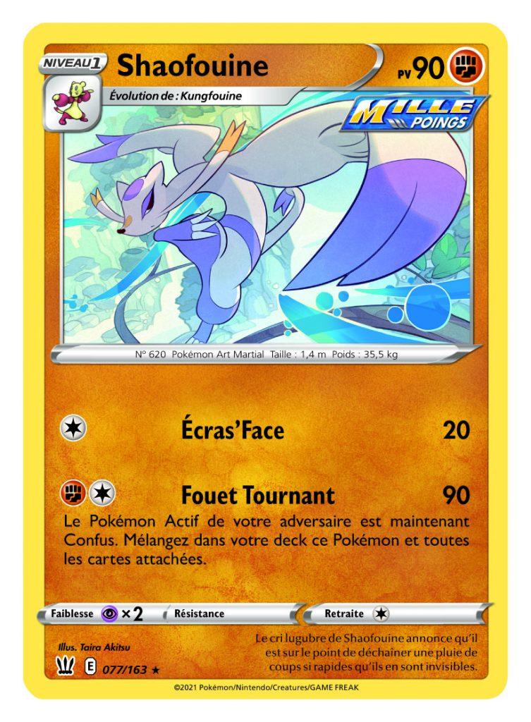 Epee_et_Bouclier_-_Styles_de_Combat_Shaofouine-753x1024 La nouvelle extension Épée et Bouclier – Styles de Combat du JCC Pokémon