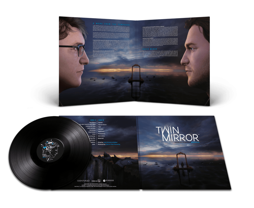 TwinMirror_Vinyl-1024x839 Le vinyle de la bande-son originale de Twin Mirror est désormais disponible en précommande