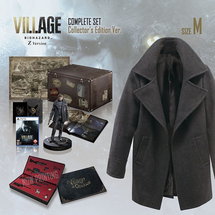 Resident-Evil-Village-Complete-Set-Collectors-Edition-1 Resident Evil Village - Les éditions collector et spéciales!