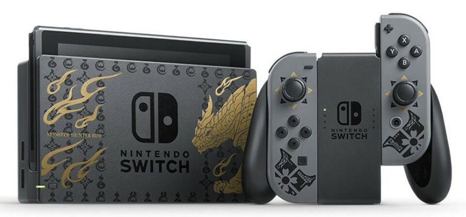 Une-Nintendo-Switch-edition-limitee-pour-Monster-Hunter-Rise- Nintendo Switch - Une version Monster Hunter Rise dès le 26 mars!