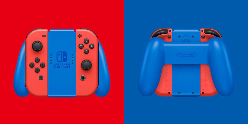 manette-Nintendo-Switch-Rouge-et-Bleue-pour-la-sortie-de-Super-Mario-3D-1 Nintendo Switch - Une version Rouge et Bleue dès le 12 février!