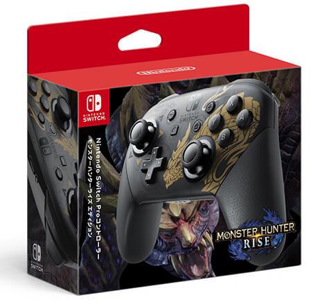 manette-switch-pro-monster-hunter-rise Nintendo Switch - Une version Monster Hunter Rise dès le 26 mars!