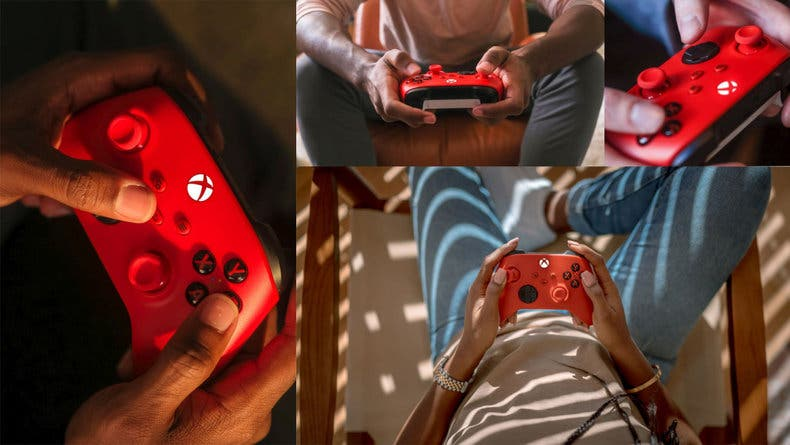 manette-xbox-series-pulse-red-rouge-ambiance-e2fc6 Pulse Red - Prochaine couleurs des manettes Xbox Series !