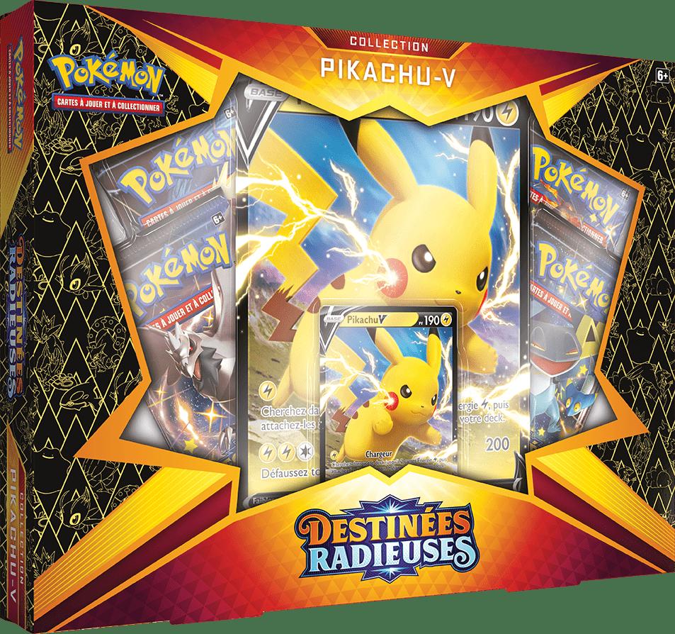 Destinees_Radieuses_Pikachu_V_Box Salarsen chromatique est disponible dans Pokémon Destinées Radieuses!