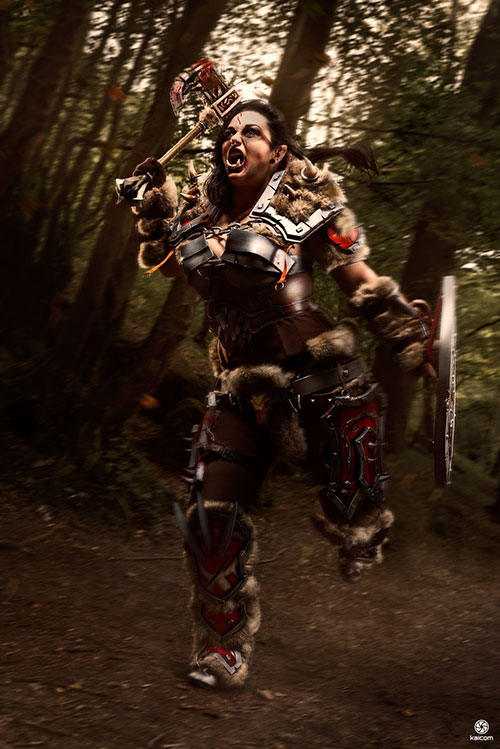 orc-cosplay-01 Un Cosplay d'Orc - World of Warcraft par Italina cosplay #213