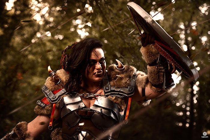 orc-cosplay-05 Un Cosplay d'Orc - World of Warcraft par Italina cosplay #213