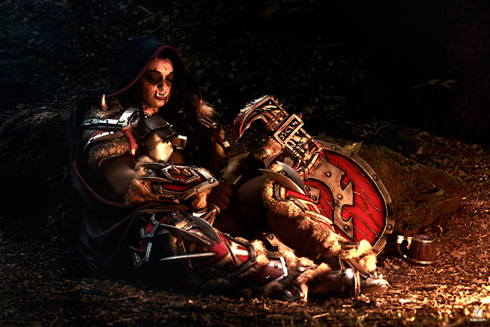 orc-cosplay-09 Un Cosplay d'Orc - World of Warcraft par Italina cosplay #213