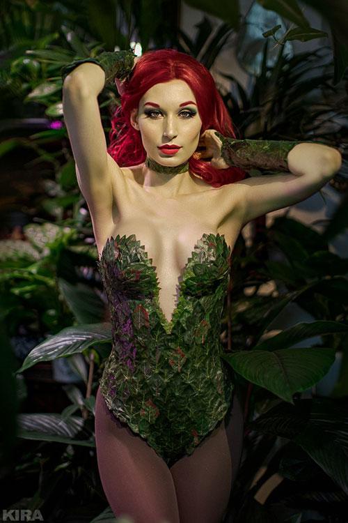 poison-ivy-cosplay-04 Un Cosplay de Poison Ivy – DC Comics #215