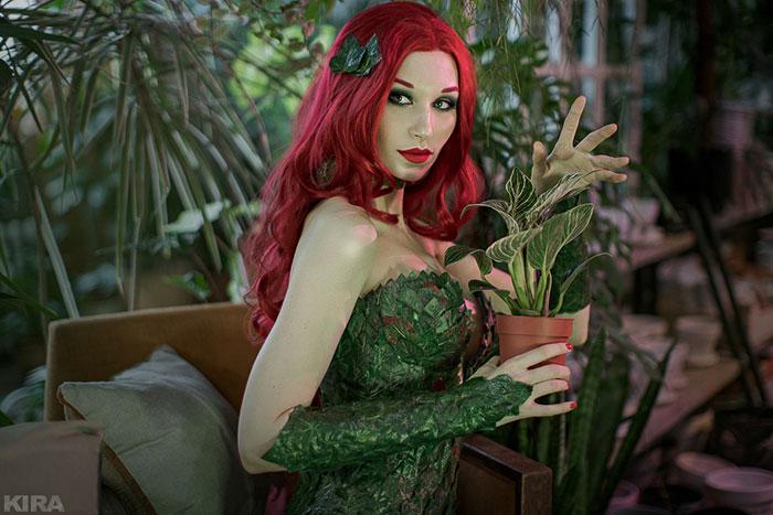 poison-ivy-cosplay-06 Un Cosplay de Poison Ivy – DC Comics #215