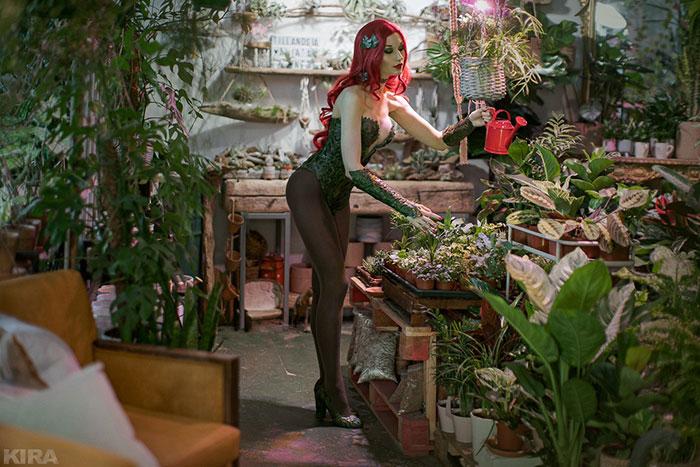 poison-ivy-cosplay-07 Un Cosplay de Poison Ivy – DC Comics #215