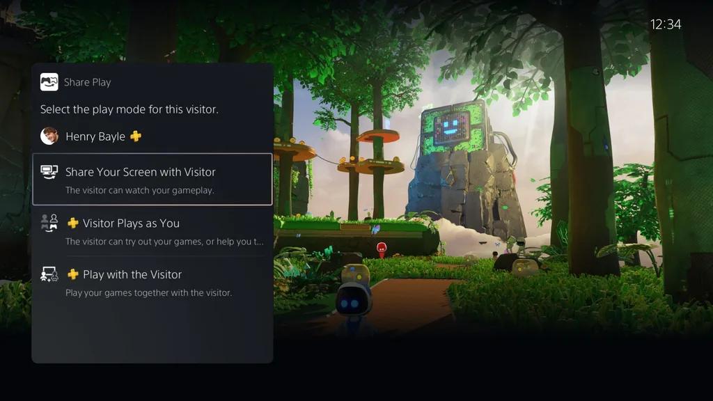 Eng-Cross-Gen-Share-Play Les détails de la première mise à jour de la PS5!