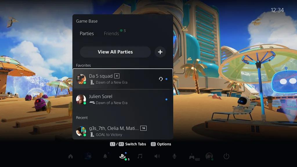 Eng-Game-Base Les détails de la première mise à jour de la PS5!