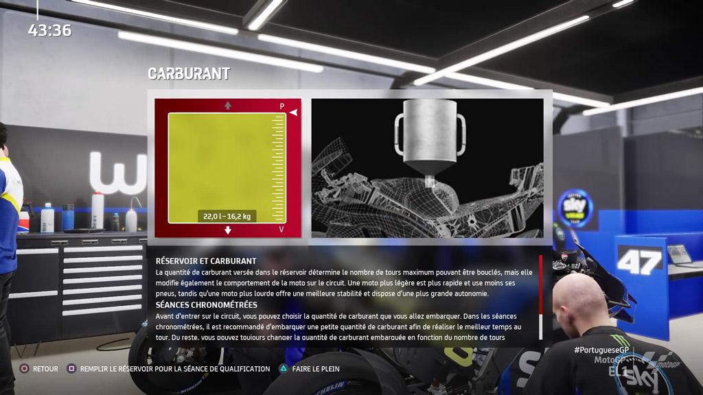 MotoGP21_reglage_carbu Mon avis sur MotoGP 21 - Version 1.5 ?