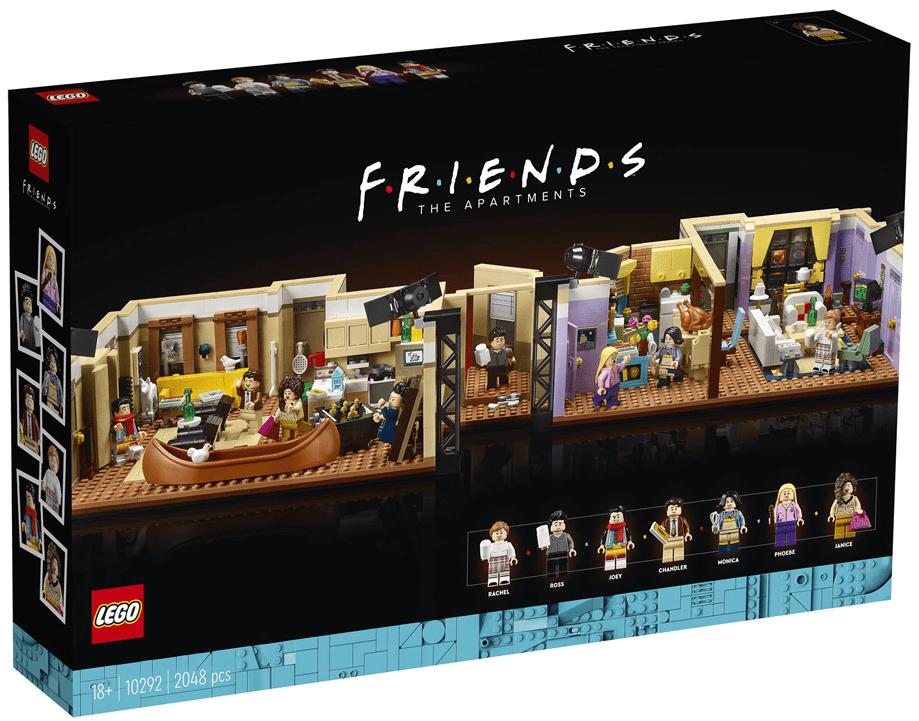 image-1 Lego Friends - Les appartements de Joey et Monica en précommande