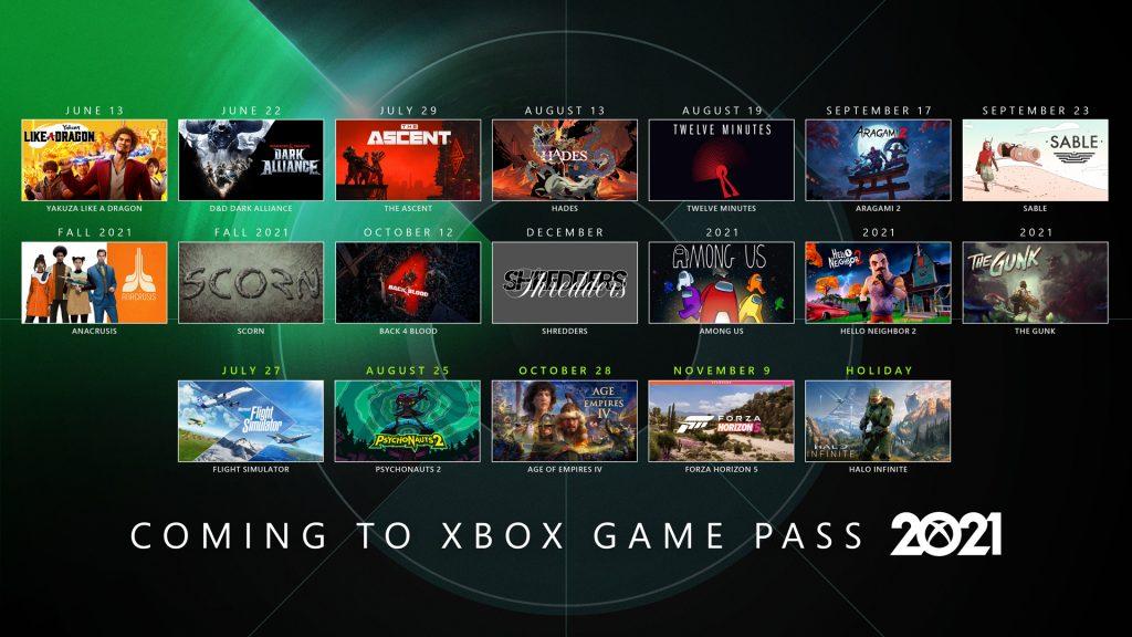 XGPCalendar_Inline-1024x576 E3 2021 - Résumé de la conférence Xbox Bethesda