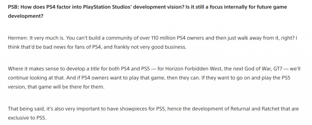 image-1-1024x411 Quelques infos sur les jeux des Playstation Studios dont un petit nouveau