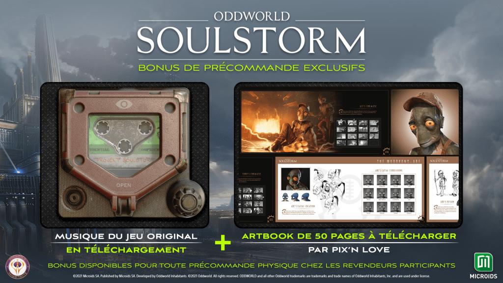 BEAUTYSHOT_ODDWORLD_1920x1080_PREORDER_BONUSES_FR-1024x576 Oddworld: Soulstorm enfin en version physique dont un Collector!