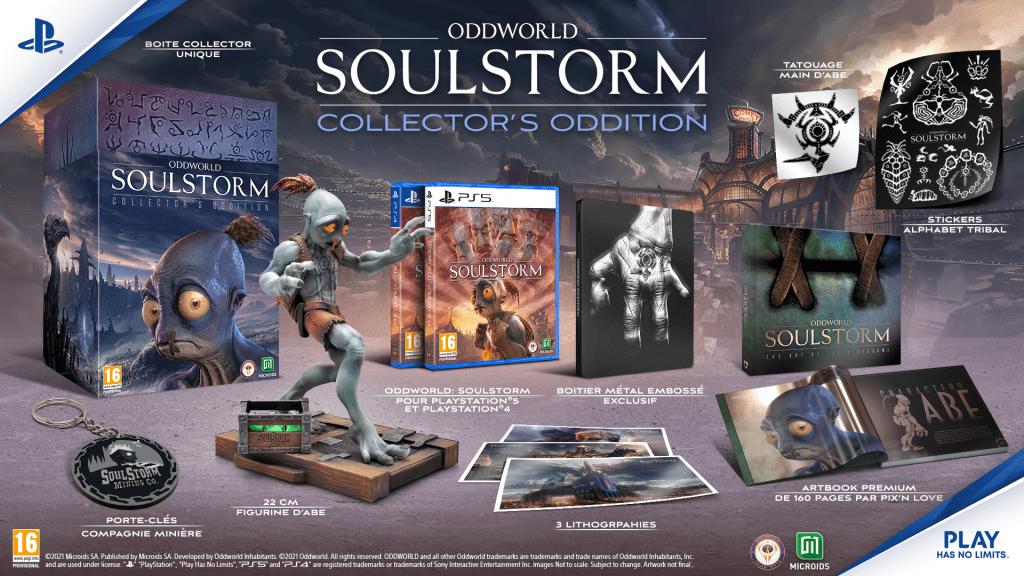 PEGI_FRA_BEAUTYSHOT_ODDWORLD_COLLECTOR_1920x1080-1024x576 Oddworld: Soulstorm enfin en version physique dont un Collector!