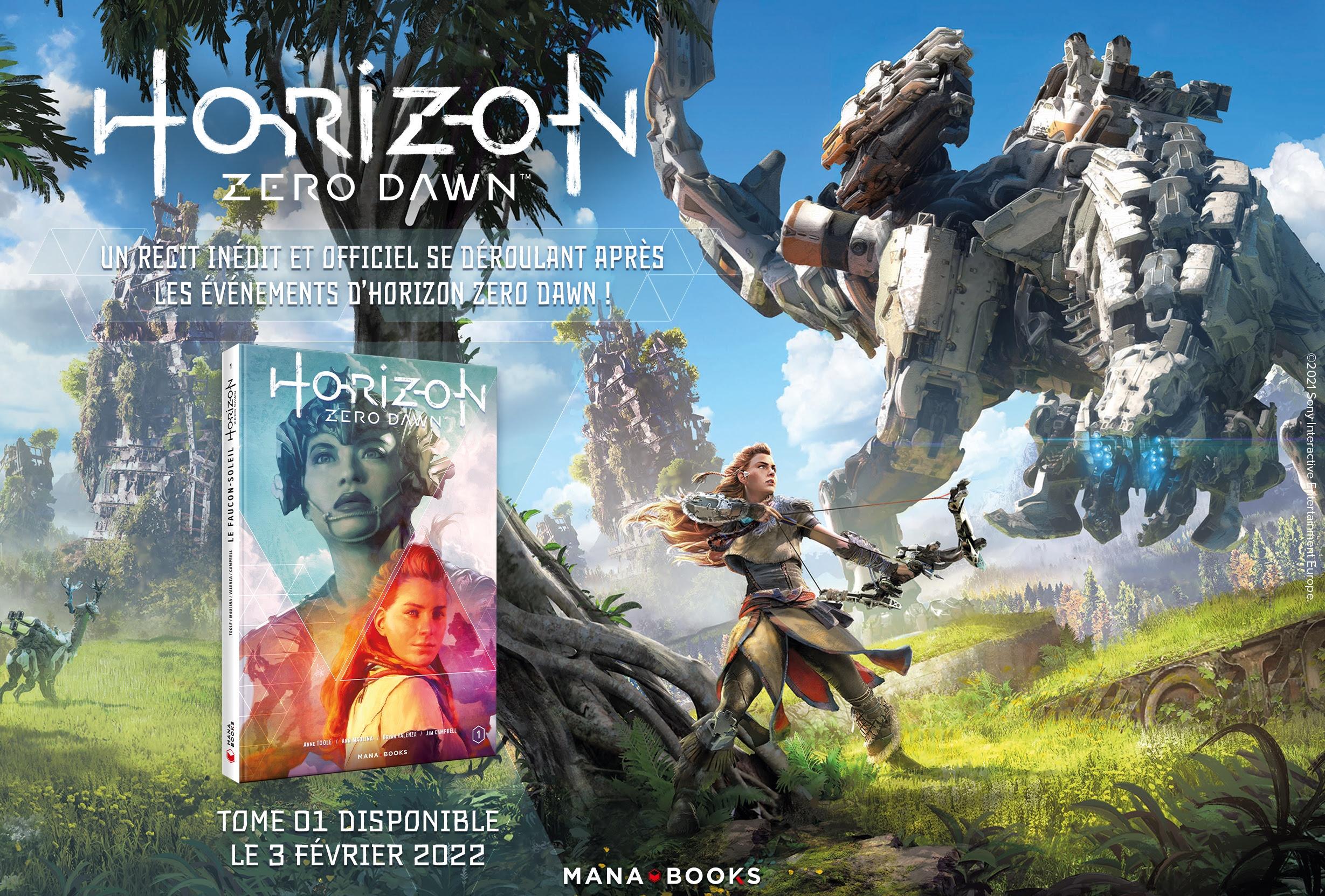 Zero-Dawn-arrive-chez-Mana-Books-3 La version française de Horizon Zero Dawn arrive chez Mana Books