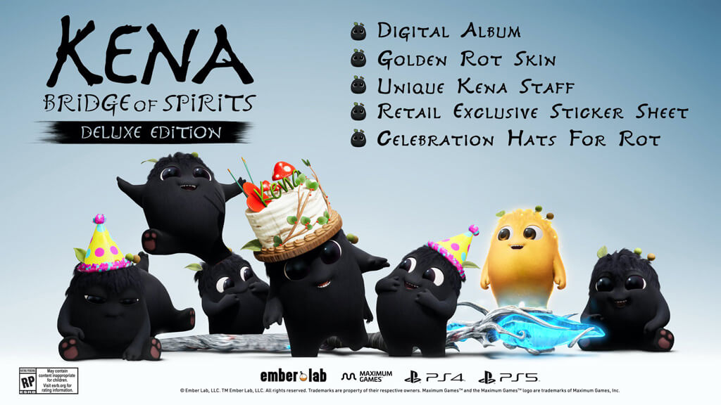 Kena Bridge Spirits Trailer lancement version physique