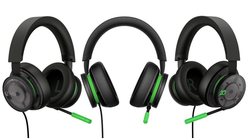 Stereo_Headset_3up_JPG-1024x576 Pour les 20 ans de Xbox - Casque - Manette et autres goodies!